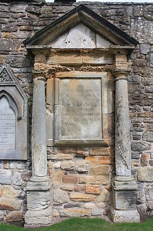 Norman MacLeod (The Wicked Man) - The monument to Norman MacLeod, St Andrews Cathedral churchyard