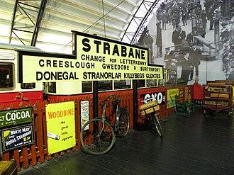 Strabane (CDR) railway station - Image: The platform at Strabane, Cultra geograph.org.uk 2760667