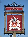 The sign for The Albany - geograph.org.uk - 1039523.jpg