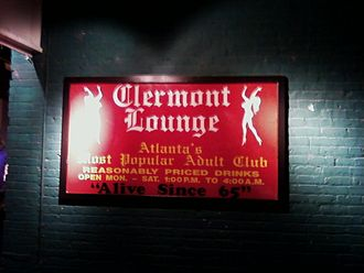 Clermont Lounge - The world-famous Clermont Lounge