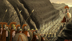 Batalha das Termópilas – Wikipédia, a enciclopédia livre