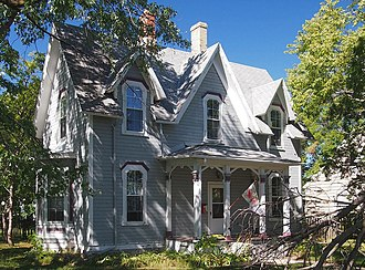 National Register of Historic Places listings in Douglas County, Minnesota - Image: Thomas F. Cowing House