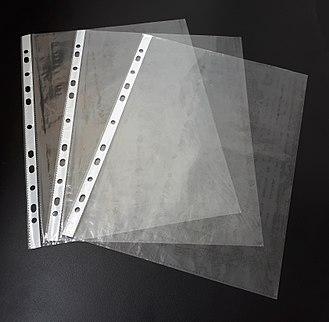 Punched pocket - Three punched pockets