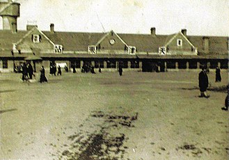 Tianjin Railway Station - The main station building, waiting room and station square of the Tianjin East Station (Today's Tianjin Station) as of January 1948.