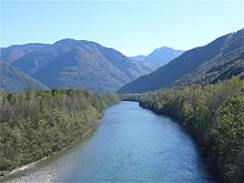 Il Ticino nei pressi di Claro
