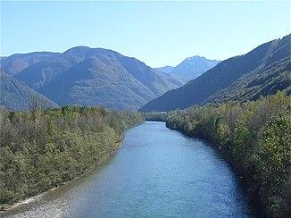 Dr Ticino bi Claro oberhalb vo Bellinzona
