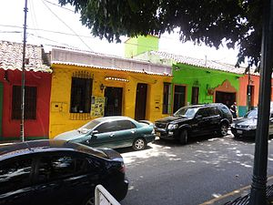 El Hatillo Municipality - Shops into the colonial houses