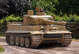 Tiger 131, Bovington Tank Museum, United Kingdom Tiger 131 (7527948486).jpg