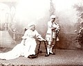 Tinka i Andrija Lukić u komadu Narcis, 1901.jpg