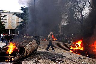 2011 Albanian opposition demonstrations