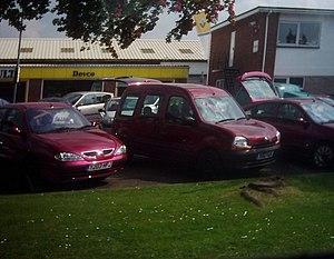 English: Tiverton : Devco Car Dealership