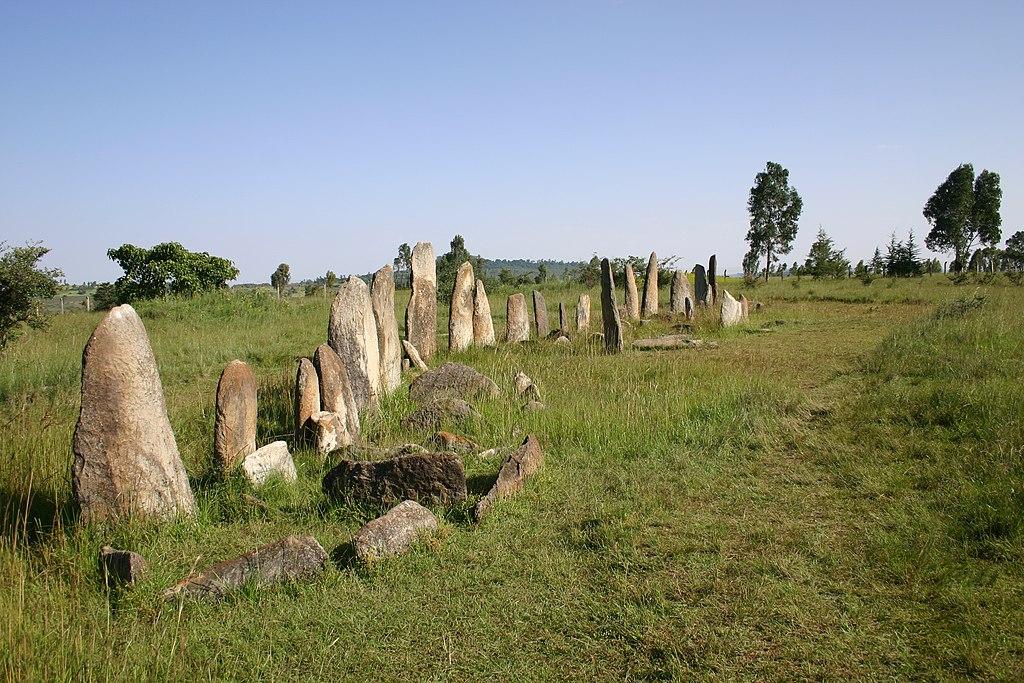 site de Tiya en Éthiopie
