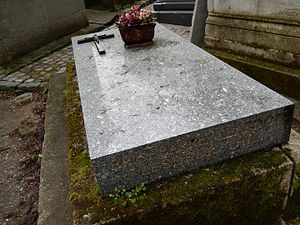 Édouard Brisebarre - Brisebarre's grave