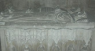 Antoine, Count of Vaudémont - Tomb of Antoine and his wife in the St-François-des-Cordeliers church in Nancy