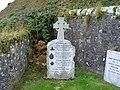 Tombstone in Keil Cemetery - geograph.org.uk - 1540609.jpg