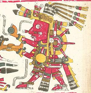 Tonatiuh - Tonatiuh Codex Borgia