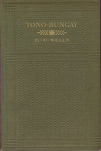 Tono-Bungay - First UK Edition Cover (1909)