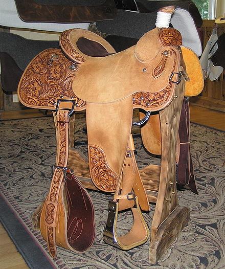Western saddle - Wikiwand