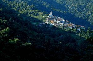 Grimacco - The village of Topolò (Topolovo) in the municipality of Grimacco