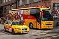 Tour of Norway 2018 - Stage 5 - Uno-X Norwegian Development Team vehicles.jpg