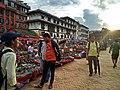 Tourist Viewing Handicraft Products in Basantapur Dabali.jpg