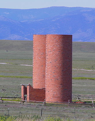 "Broadwater County, Montana - ""The Silos"" are a major Broadwater County landmark"