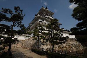 Toyama Castle - Toyama Castle main keep, reconstructed 1954