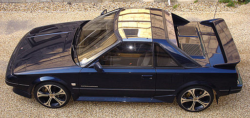 Toyota MR2 MK1 from above