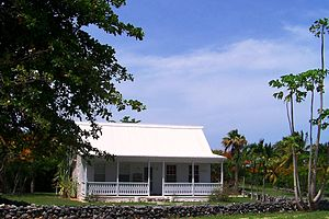 Traditional caymanian home east end