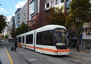 EsTram - Image: Tram Eskişehir (1)