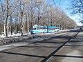 Tram 114 at Kopli Park Kopli Tallinn 1 March 2016.jpg