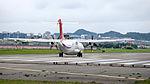 TransAsia Airways ATR 72-212A B-22817 Departing from Taipei Songshan Airport 20150321f.jpg