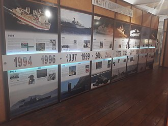 South African Naval Museum - Image: Transformation Display SA Naval Museum Simon's Town