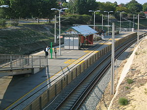 Mount Lawley railway station - Image: Transperth Mt Lawley Train Station