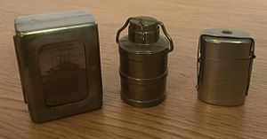 Inkwell - Examples of 19c Travelling Inkwells