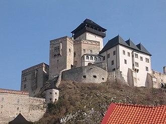 Ispán - Trencsén Castle (Trenčín, Slovakia), seat of Matthew Csák