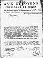 Tribunal criminel France An IV du bagne de Brest.jpg