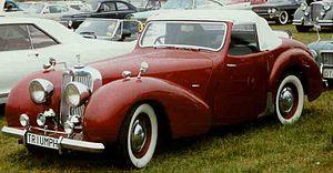 Triumph Roadster - Image: Triumph 1800 Roadster 1948