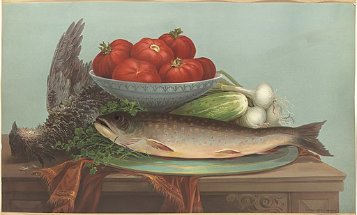 Trout, Grouse, Tomatoes (Boston Public Library)