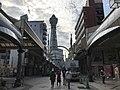 Tsutenkaku-Hondori Shopping Street and Tsutenkaku Tower.jpg