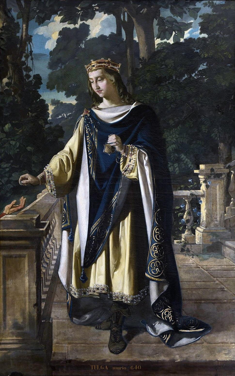 Tulga, rey de los Visigodos (Museo del Prado)