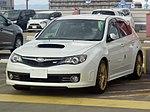 Tuned Subaru IMPREZA WRX STI 5door (CBA-GRB) front.jpg