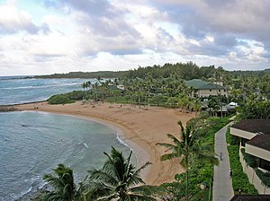 Turtle Bay Resort - View from room 501