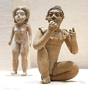 Xochipala - Two Formative Period Xochipala figurines, 13th - 10th century BCE (?)