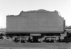 South African type XE tender - Image: Type XE tender of Class 6B or 6E