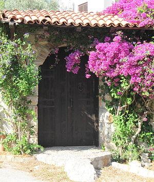 Torba, Bodrum - Entrance to a villa in Torba
