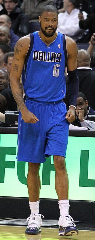 Tyson Chandler - Chandler with the Mavericks in February 2011