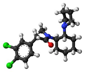 U-50488 - Image: U 50488 molecule ball