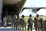 U.S. Airmen jump with Bulgarians during two-week flying training (9402823092).jpg