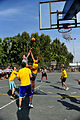 U.S. Soldiers with the 5th Battalion, 7th Air Defense Artillery Regiment and Israeli soldiers compete in a basketball game during a field competition as part of Austere Challenge 2012 in Hazor, Israel 121101-F-QW942-409.jpg